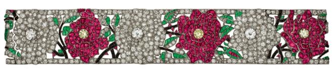 bracelet roses VCA