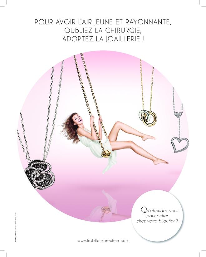 Campagne 2013 Francéclat, visuel colliers